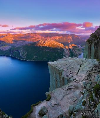 Preikestolen Credit: Paul Edmundson