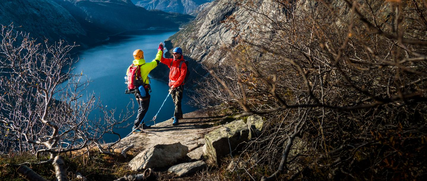 Trolltunga Active - Via Ferrata Guides - Visit Hardangerfjord photo credit